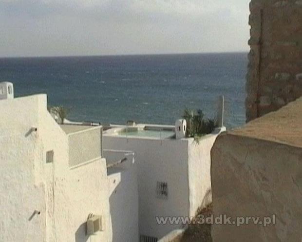 Basen na dachu domu, medina, Hammamet, Tunezja