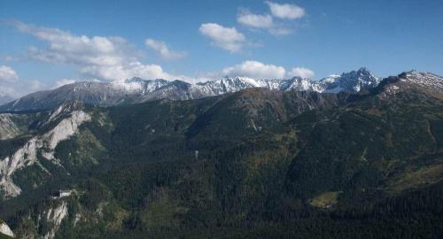 z Kalackiej Kopy widok na Tatry #góry #KalackaKopa #masyw #mountain #panorama #Tatry #Zachodnie