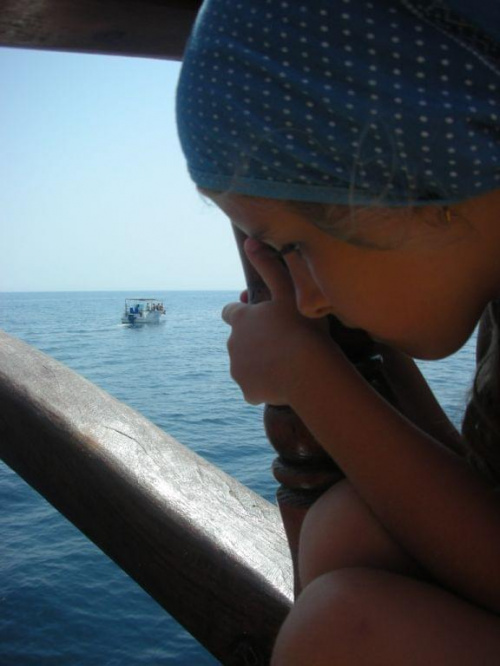 #dziecko #łódka #pirat