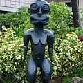 Centrum Kultury Polinezyjskiej - bożki nas witają #kultura #wgzotyka #taniec