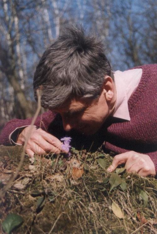 Ja, Mysliciel w roku 2004 wczesną wiosną w Leśnym Parku Kultury i Wypoczynku w Myślęcinku, północna część Bydgoszczy #MyślicielWMyślęcinku