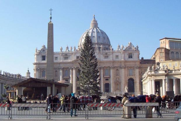 Szopka w Watykanie #watykan